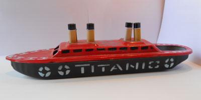 Titanic rouge